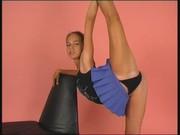 Гибкая русская гимнастка